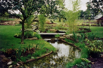 Water Rockwell Design Sussex Large Country Garden Design Sussex
