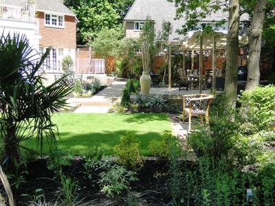 Contemporary Garden Design Surrey, Contemporary Garden ...