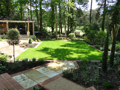 Woodland Garden Design low maintenance outdoors woodland garden outdoorthemecom Garden Design With Contemporary Garden Design Surrey Contemporary Garden Design Surrey With Moss Landscaping From