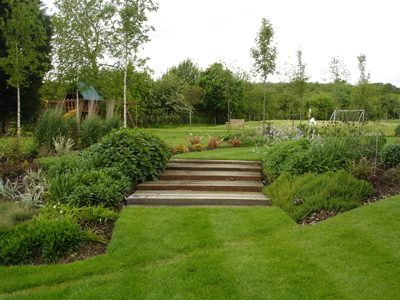 Country And Parkland Garden Design Large Garden Design London